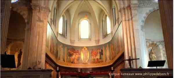 Rameaux une fête autour de Philippe de Lyon orgue rameaux wwwphilippedelyonfr site Maitre Philippe de Lyon