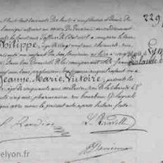 Victoire Philippe fille de Philippe de Lyon s'appelle