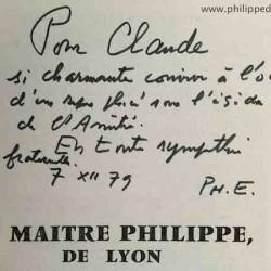 5 aout 1905 obsèques de Maitre Philippe… 108 ans apres