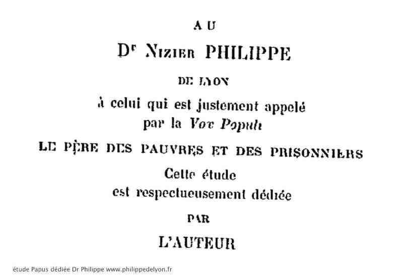 etude papus dediee dr philippe wwwphilippedelyonfr