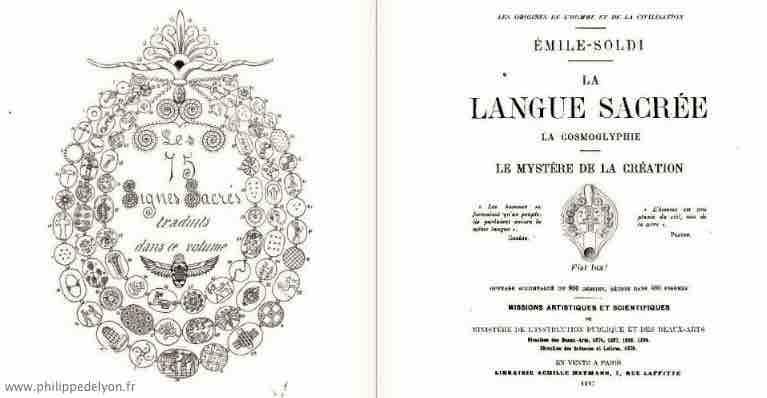 origine du glyphe utilisé par Philippe de Lyon