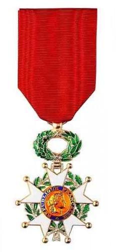 La Légion d'honneur dans un scandale des décorations wwwphilippedelyonfr