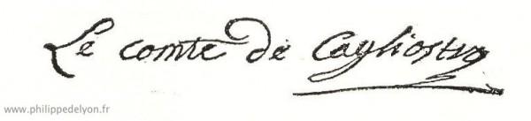 site Maitre Philippe de Lyon signature Cagliostro pour www.philippedelyon.fr