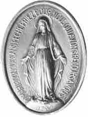 medaille miraculeuse de la vierge texte priere je vous salue Marie paroles de soulagement www.philippedelyon.fr