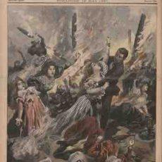Incendie du Bazar de la Charité 35 rue tête d'or 4 mai 1897