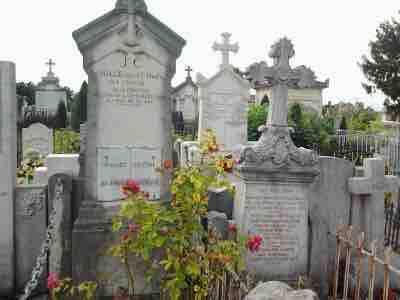 tombes Jean Chapas Olga Chestakow cimetiere loyasse philippedelyon-fr