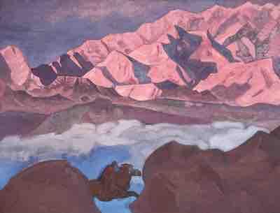 tableau de Nicholas Roerich Musée de New-York www.philippedelyon.fr