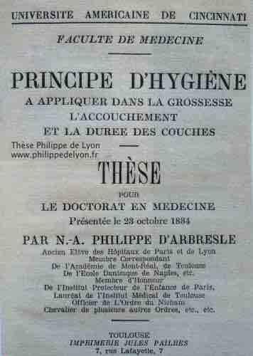 site Maitre Philippe Philippe de Lyon Thèse Philippe www.philippedelyon.fr