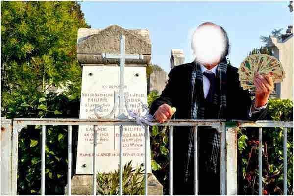 site Maitre Philippe de Lyon tombe publicitaire cimetiere de loyasse wwwphilippedelyonfr