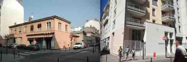 site maitre Philippe de Lyon vue angle rue tete dor tronchet 90-2013 wwwphilippedelyonfr