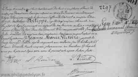 Jeanne Marie Victoire acte naissance