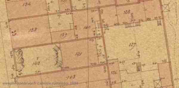 site maitre philippe Philippe de Lyon wwwphilippedelyonfr cadastre ruetetedor 1889